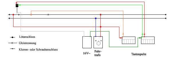 Modelleisenbahn elektrik schaltpläne